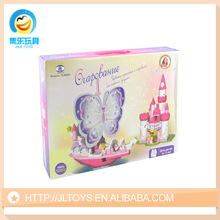 Russian Children Plastic Building Block For Girls