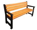 ao ar livre de madeira rústica cadeiras