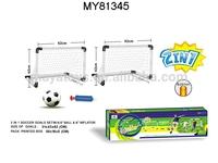 Training Football Soccer Gate/ Plastic soccer football goal gate mini football goal