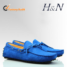 2014 new fashion suede loafers for men