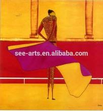 Impressionist Hot Sale Espana Matador Oil Painting