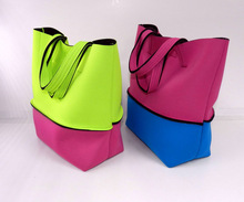 Neoprene Fashion Handbags Woman Handbag Lady handbag Beach bags Shopping Bag