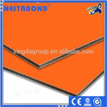 aluminum plastic decorative building construction materials exterior wall panel aluminium composite panel/alucobond panel price