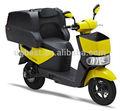 Durable et économique jaune, koala pizza scooter électrique/consegna pizza/batterie au lithium