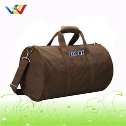 Custom canvasduffle shoulder bag