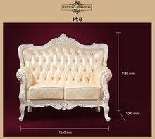 Best sale Loveseat white wedding sofa