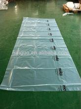 de alta calidad de plástico cubierta de colchón desechables de plástico de la cubierta del colchón