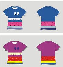 XR bambini vestiti di marca, bambini abbigliamento estivo, ragazzi ragazzo moda t- shirt bambino top di cotone stampato al dettaglio online 3-7 anni