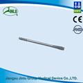 el cuello del fémur cabezas de doble compresión canulado tornillos tornillos ortopédicos de metal para la fractura de hueso