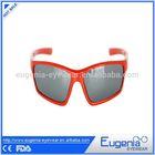 2014 best quality model fashion kids clip on sunglasses