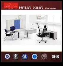 Excellent mancraft L-shaped wooden office desk HX-9434