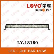 180W led light bar tuning light, heavy equipment led light bar
