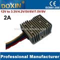 Bajo voltaje de 12v a 3.3v 2a dc convertidor de corriente continua