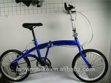 dark blue 20 inch fashion smart folding bike for lady