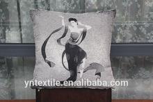 Jacquard handmade fashion vibration back massage cotton cushion