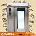 Multi- funcional o cookies galletas o pan eléctrico o de gas automático del horno rotatorio/horno de aire caliente