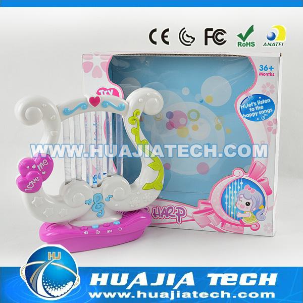Promoção little harpa crianças melhor presente aprendizagem de máquina mini harpa com luz e música