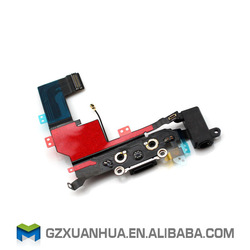 High quality for iphone 5s Charging dock connector flex cable, for iphone charging port