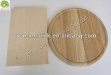 flexible round bamboo wooden cutting board