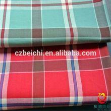 china 100% cotton grey plaid fabric yarn dye