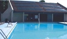 swimming pool heater split pressurized solar collector