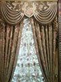 2014 venta caliente 100% de poliéster blackout cortina de la ventana para/tapicería/textiles para el hogar