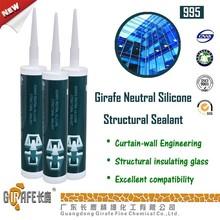 Girafe 995 Neutral RTV-1 High Modulus Structural Silicone Sealant