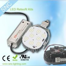 Retrofit Conversions led retrofit kits 400 watt metal halide replacement , gas station led canopy lights