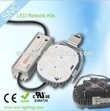 Retrofit Conversions led retrofit kits/ retrofit plate E40 base led plate, gas station led canopy lights