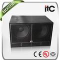 ITC TS-218 1000W altavoces de bass de 18 pulgadas de 4 ohm 2.0 duales