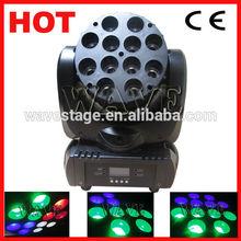 WLEDM-09-2 Good price 12 pcs 4 in 1 10w rgbw leds 12 watts beam moving head