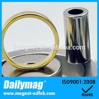 Nickel Cheap Radial Magnet Diametric Ring Magnet Multiple Annular Magnet for Sale