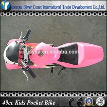 49cc Pink Super Pocket Bike for Kids Pink Racing Pocket Bike 49cc