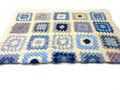 Mamie carrés crochet couverture./bébé couverture afghan