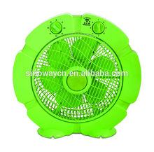 explosion style MIni green model 10'' box fan KT25-K4
