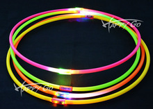 Multi-color Flash led hulahoop hula hoop