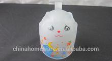 wholesale promotion frosted glass mug advertisement mug creative gift