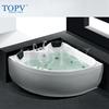 Double 2 persons Whirlpool massage corner bathtub MT-8309