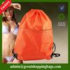 nylon customize cloth drawstring bags