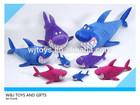 custom fashion animal toys plush shark