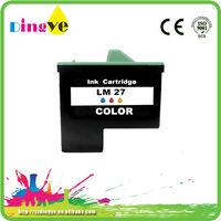 alibaba golden supplier for lexmark LM17 LM27 lexmark 17 lexmark 27 inkjet printer cartridges