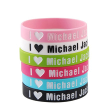 I LOVE ONE DIRECTION 1D One Direction Silicone Wristband Bracelet Band