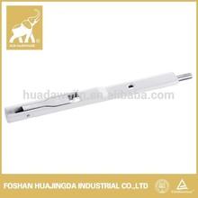 aluminum lever put/ flexible window flush bolt