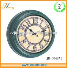 antique plastic wall clock home decoration clock 3D dial clock