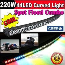 Eyourlife 220W 50'' CURVED CREE SPOT LED WORK LIGHT BAR JEEP 250W 288W 250W 300W