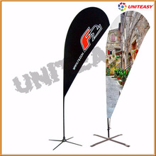 different styles event flags/beach flags/teardrop flag