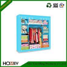 2014 fashion portable fabric assemble modular wardrobe