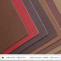 Couro em microfibra tecido para o assento de carro, sofa tampa de usar com tipos de cores