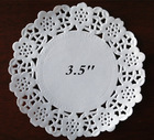 """3.5"""" Paper Craft Lace Paper Doilies on Sale"""