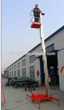 Mobile aluminum alloy lift platform/mobile platform for aerial working
